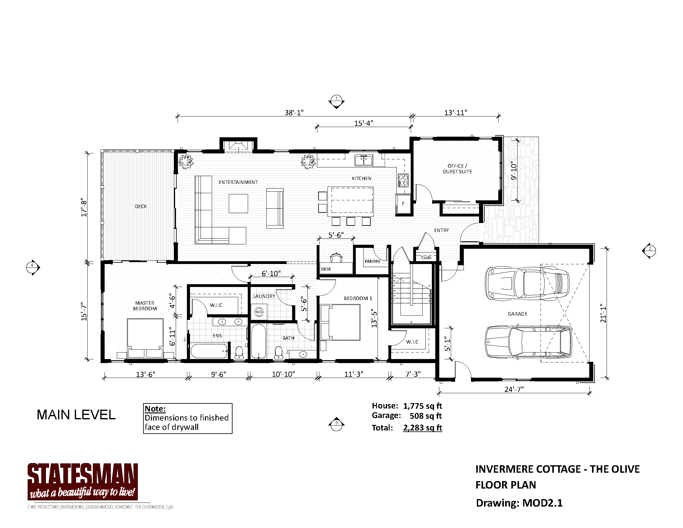 Mountain Homes Floorplans Page 2