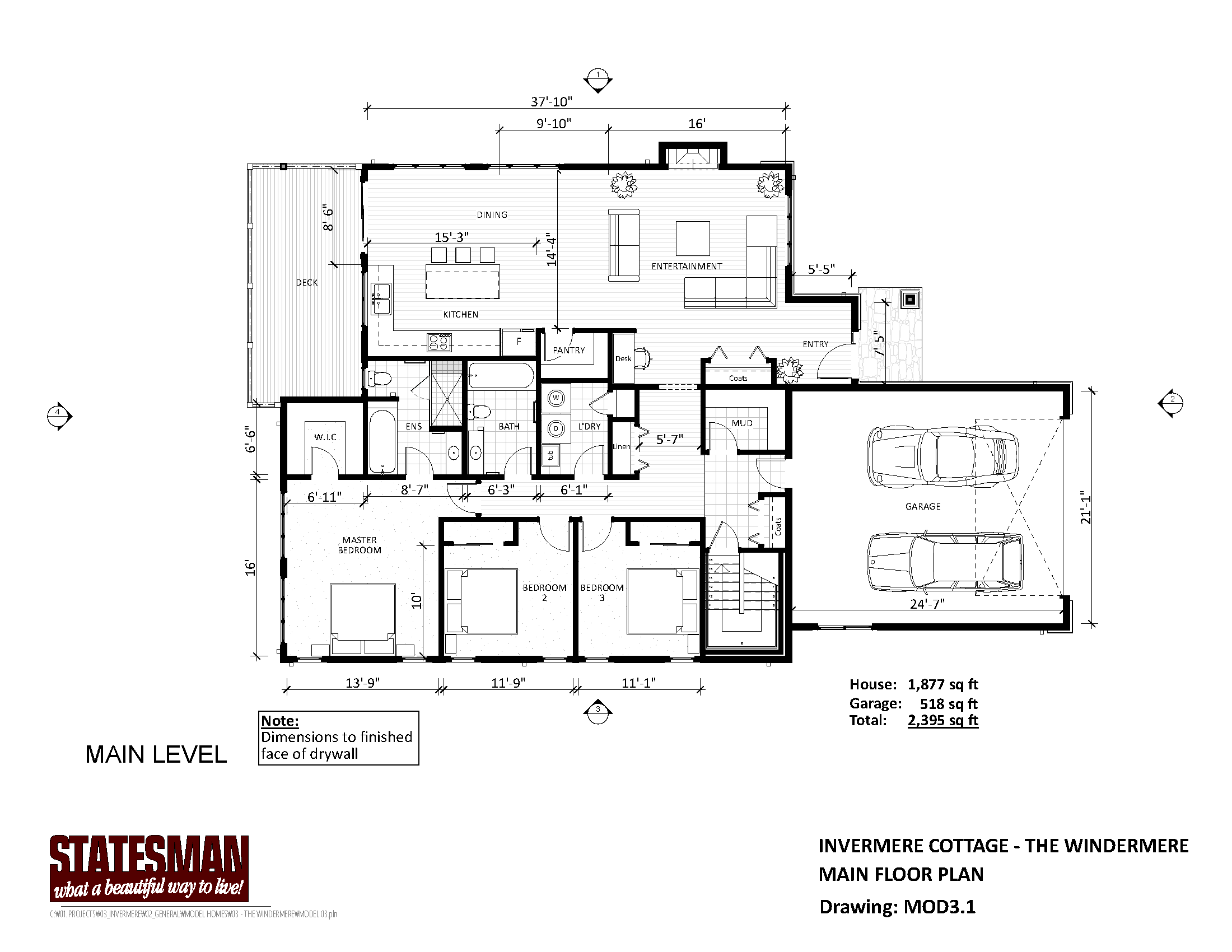 Mountain Homes Floorplans Page 3