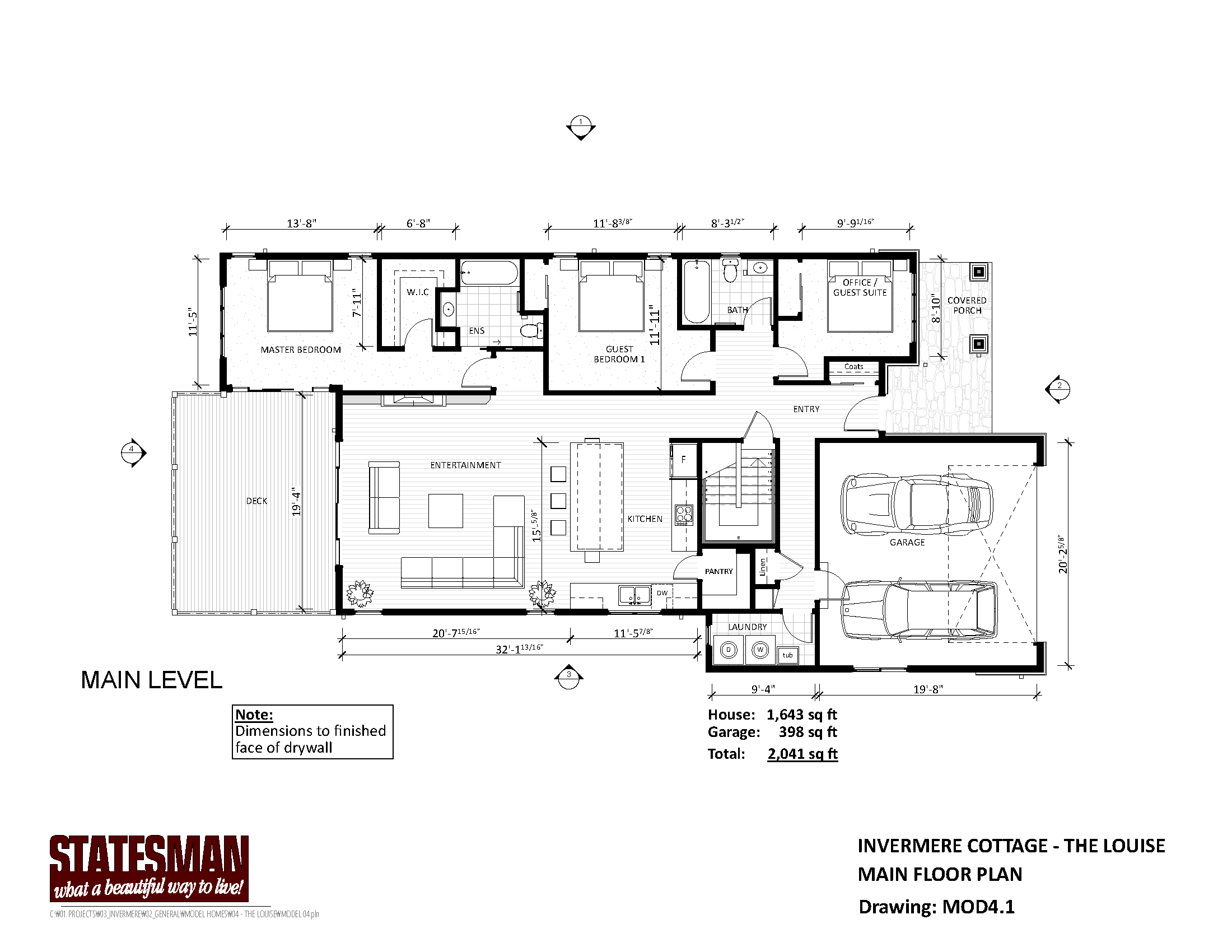 Mountain Homes Floorplans Page 4